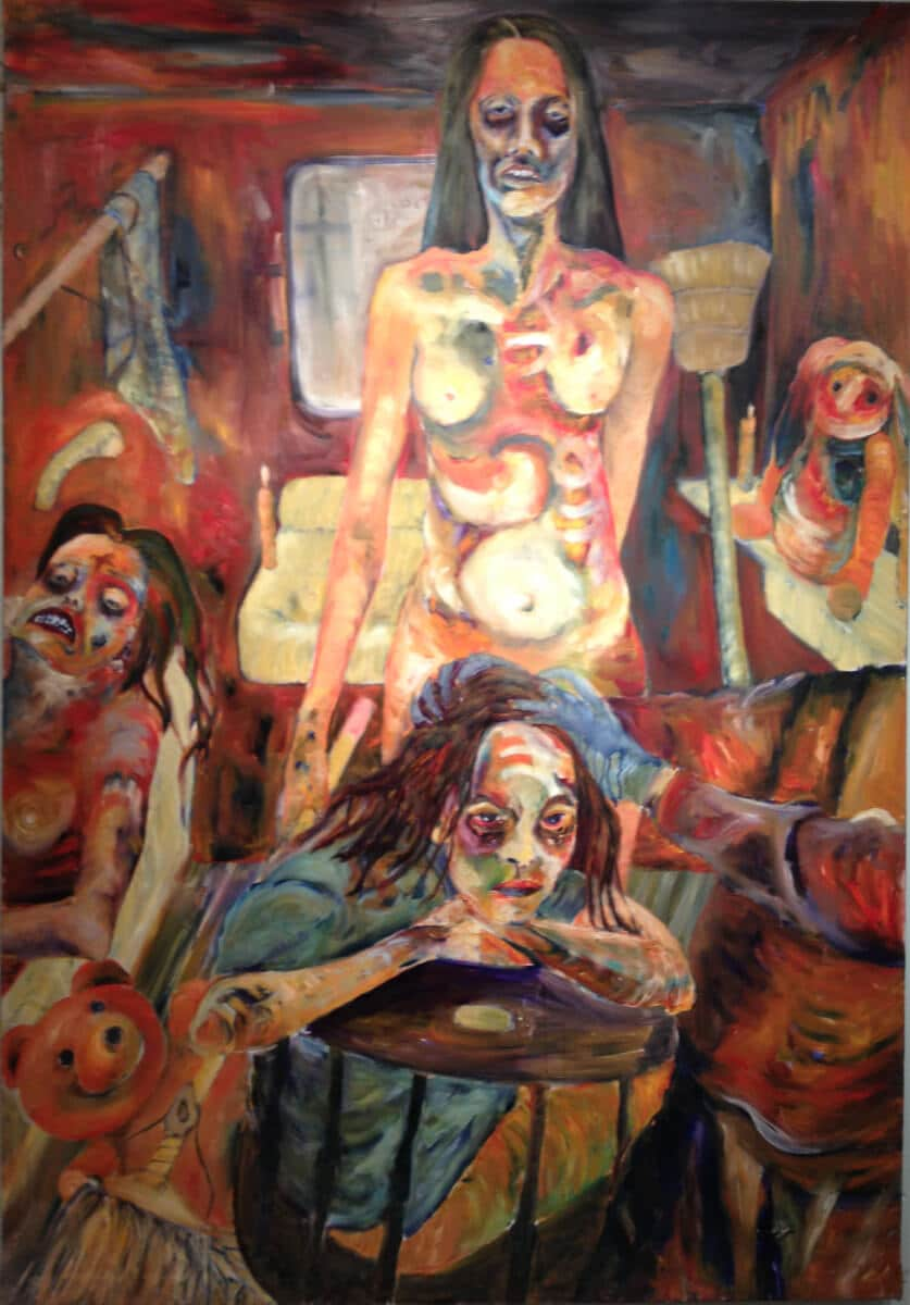 Brainwashing - Oil on Canvas - 48 x 72